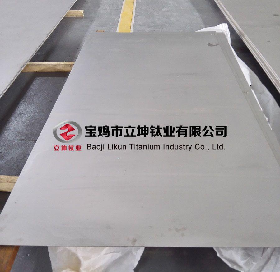 立坤钛业定制TC4钛板 TC4钛合金板 规格齐全