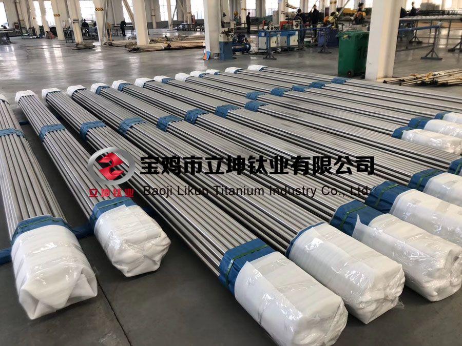 立坤钛业定制石油仪器用TC4钛合金棒 钛合金管